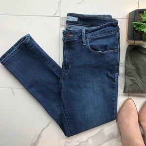 Levi's Dark Wash Mid Rise Skinny Jeans